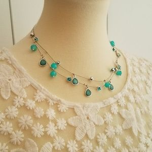 Jewelry - NEW! Gorgeous Double Layer Beaded Necklace